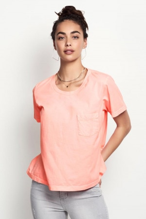 Bonds The Boxy Tee Viva Pink