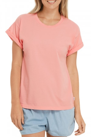 Bonds The Roll Up Tee Washed Summer Coral CWTXI PLN