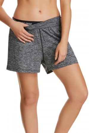 Bonds Micro Sweats Roll Down Short Black