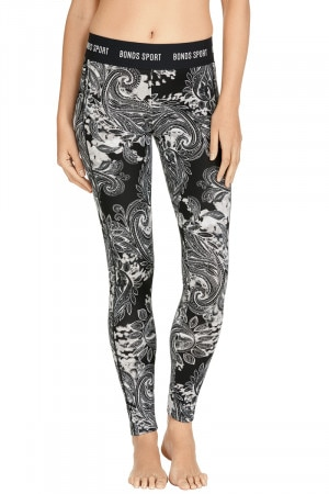 Bonds Micro Full Legging Power Paisley
