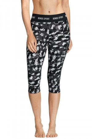 Bonds Micro 3/4 Legging Sketch Leopard
