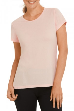 Bonds Bodylite Tee Peach Bliss