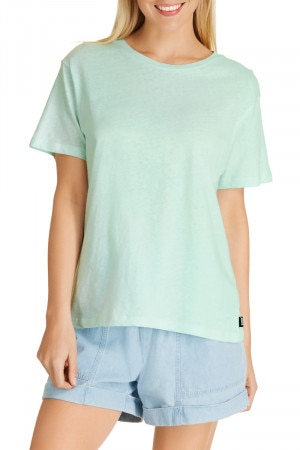 Bonds Linen Tee Mint Slice