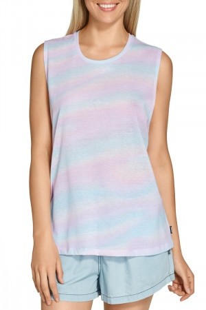 Bonds Beach Tank Pastel Wave