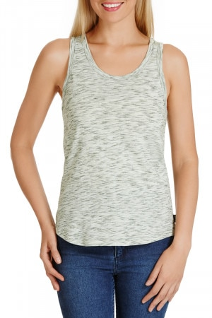 Bonds Coloured Slub Tank Khaki Canopy CXGWI GXT