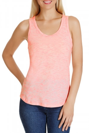 Bonds Coloured Slub Tank Pink Pop CXGWI RNS