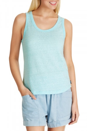 Bonds Triblend Tank Spritz Blue