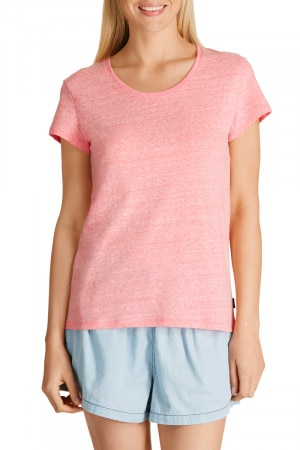 Bonds Overdyed Crew Tee Rose
