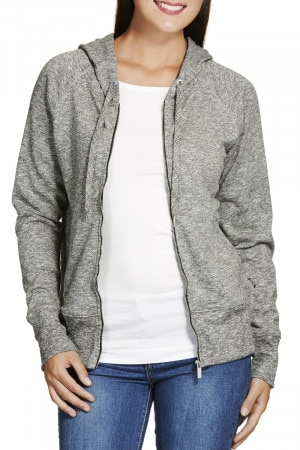 Bonds Textured Bondsfit Hoodie Black & White CYMUI BAW