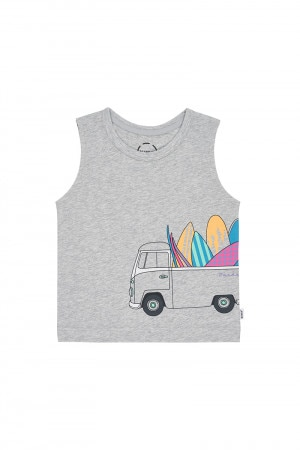 Bonds Kids Muscle Tank Surfin Safari