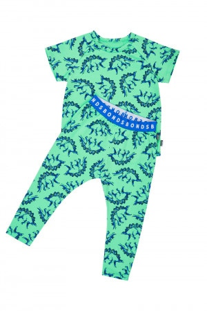 Bonds Kids Tee And Long Leg Pj Set Stegosaurus Time