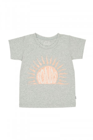 Bonds Kids Short Sleeve Crew Tee Bonds Summer Sunshine