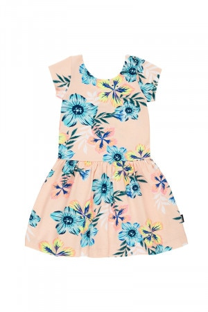 Bonds Hipster Dress Tropical Hawaiian Fresh Melon