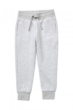 Bonds Tech Sweat Trackie New Grey Marle KXHPA NWY
