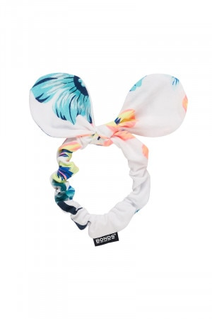 Bonds Kids Scrunchie Tropical Hawaiian White