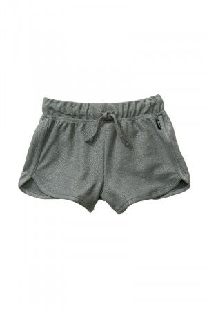 Bonds Girls Disco Short Shimmer Hunter Green