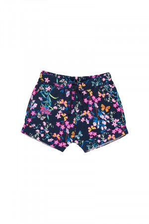Bonds Toughie Short Blossoming Butterflies Navy