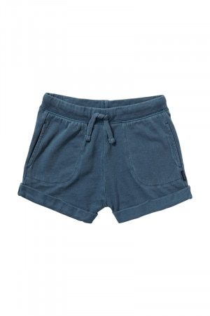 Bonds Girls Toughie Short Blue Rock