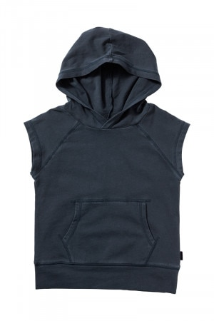 Bonds Kids Toughie Sleeveless Hoodie Harpoon