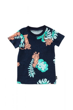 Bonds Triblend Tee Leopard Party Spaced