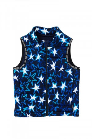 Bonds Padded Jersey Vest Superstar Blue