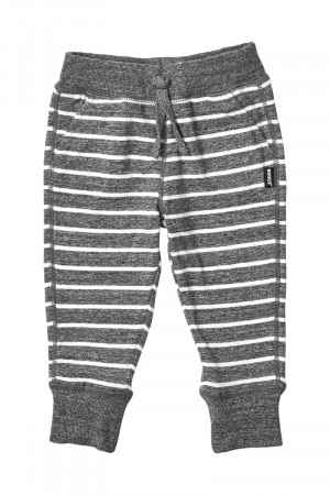 Bonds Hipster Trackie Escape Stripe Grey Black Marle