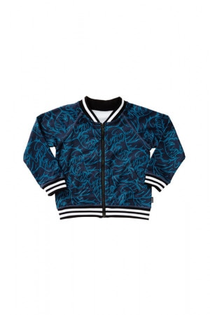 Bonds Kids Retro Ribs Bomber Jacket Shibuya Waves