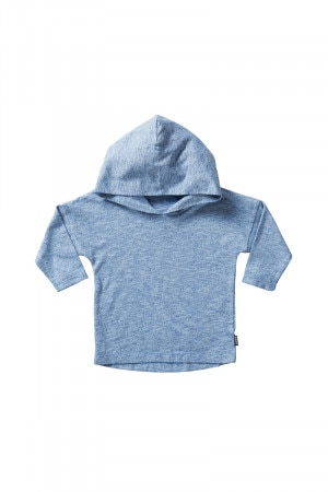 Bonds Kids Long Sleeve Hoodie Tee Portsea Blue KXVFK MRA