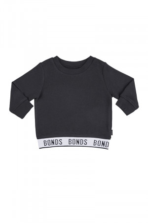 Bonds Logo Pullover Black