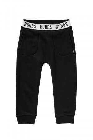 Bonds Kids Logo Signature Trackie Black KXWFK BAC
