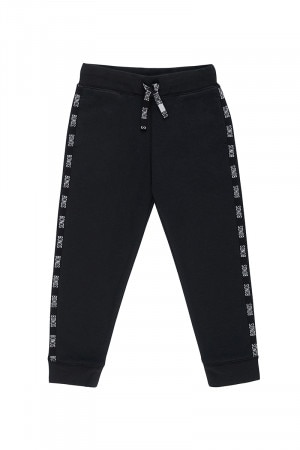 Bonds Kids Cool Sweat Trackie Black