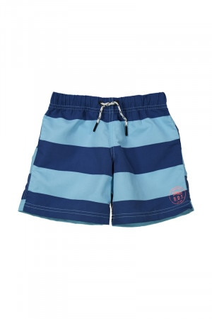 Bonds Kids Swim Boardie Deep Dive Stripe