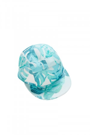 Bonds Kids Hat Tropical Sunset Blue