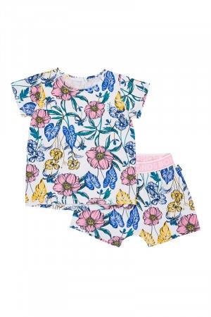 Kids Short Sleeve Pj Set