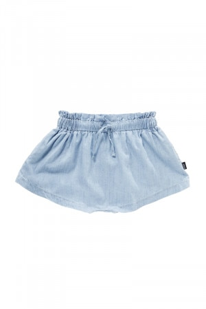 Bonds Girls Denim Short Summer Blue