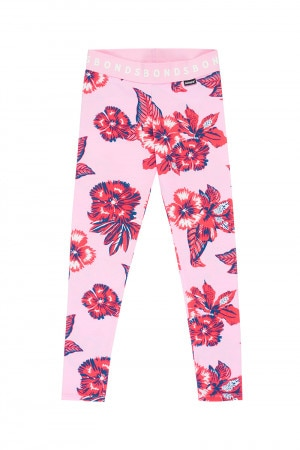 Bonds Kids Legging Aloha Vibes Supreme Red