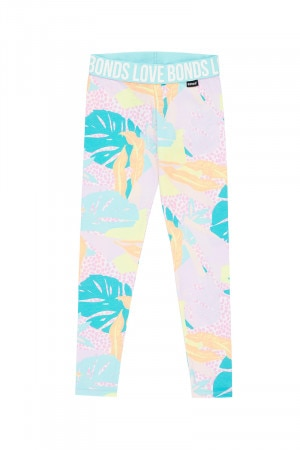 Bonds Girls Legging Forest Spot Gumball Pink