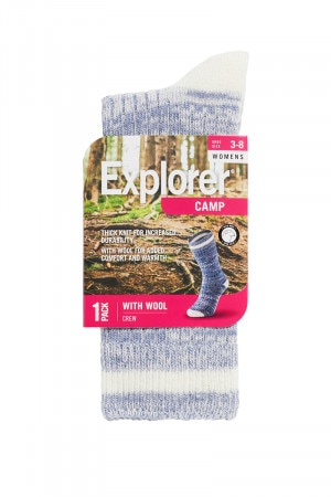 Explorer Camp Wool Crew 1 Pack