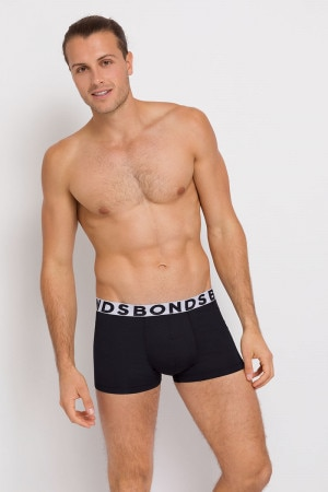 Bonds Active Everyday Trunk Black/White