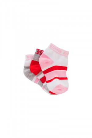 Bonds Baby Sportlet Socks 3 Pack Pack 21 R6463N 21P