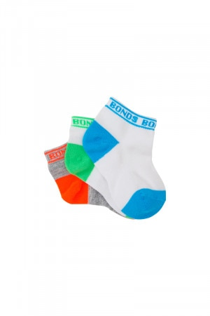 Bonds Disney Baby Sportlet Socks 3 Pack Pack 25 R6463N K25