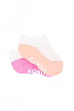 Bonds Baby Logo Low Cut 2 Pack Pack 04