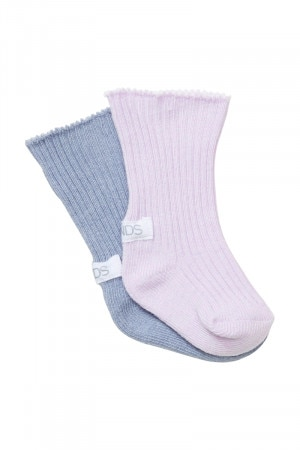 Bonds Baby Planet Happy Newbies Rib Socks 2 Pack Pack 04
