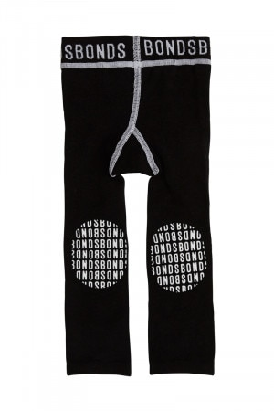 Bonds Baby Grippies Leggings Black