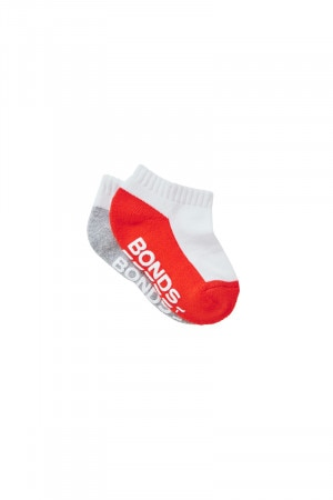 Bonds Baby Logo Low Cut Socks 2 Pack Pack13 RYUP2N 13K