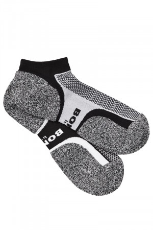 Bonds Mens Ultimate Comfort Low Cut Sock 2pk