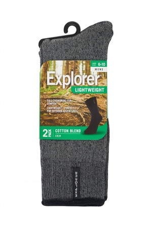 Bonds Explorer Lightweight Crew 2 Pack Pack 09