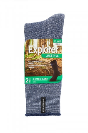 Explorer Lightweight Texture Crew 2 Pack