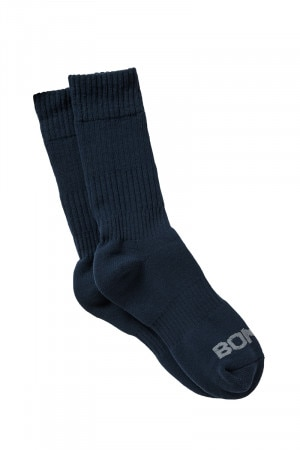 Bonds Mens Cotton Work Sock 2pk Magic Navy