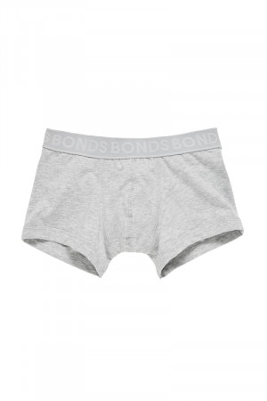 Bonds Boys Fit Trunk New Grey Marle